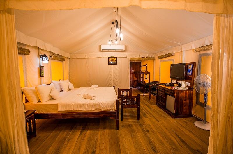 Tent Room Hotel Millennium Park Panchgani